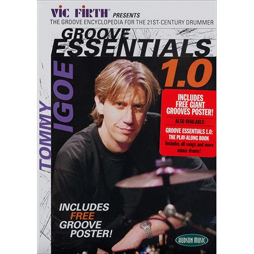 [교본/CD/DVD] Tommy Igoe - Groove Essentials 1.0 PACK (3가지 구성)