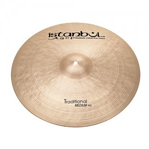 [드럼코리아 1599-3867] Istanbul Agop - Traditional Medium 라이드 심벌