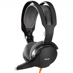 AKG GHS1 (black with orange accents) 헤드폰