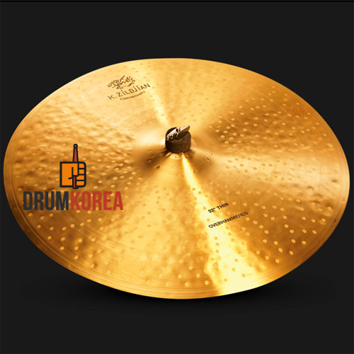 "Zildjian 22"" K Constantinople Thin Over Hammered Ride Cymbal ㅣ 질젼 콘스탄티노플 띤 라이드 22인치 - K1101"