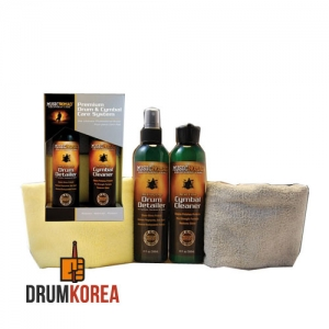 [드럼코리아 1599-3867] [Music Nomad] Drum Care kit - Premium Drum & Cymbal & Towel 드럼관리용품 팩키지 - MN112