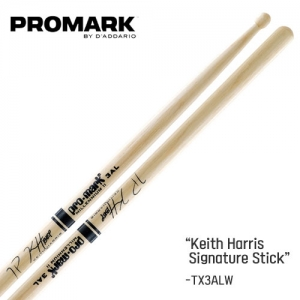 [드럼코리아 1599-3867] Promark - Keith Harris  Signature 스틱 (Wood/TX3ALW)