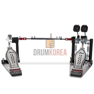 [드럼코리아 1599-3867] DW - DW9000 Series Double Bass Drum Pedal (DWCP9002) 더블패달