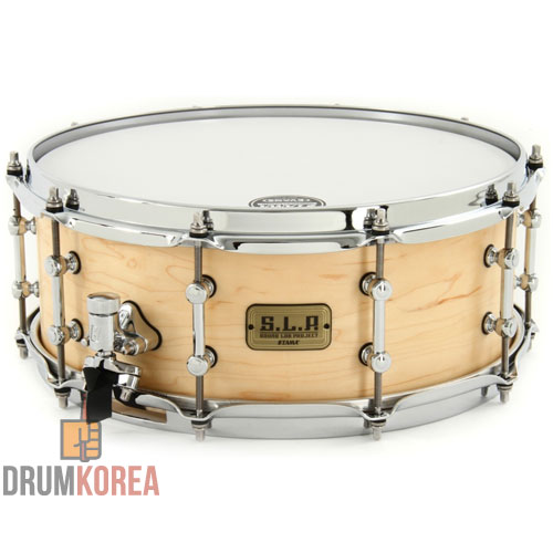 [드럼코리아 1599-3867] Tama - S.L.P. Series Natural Figured Maple 스네어드럼 LMPM1455F-NFM