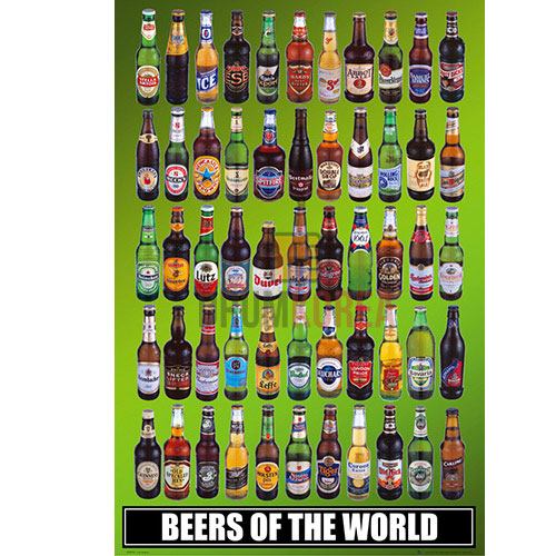[드럼코리아 1599-3867] Beers of the World - Bottles 포스터
