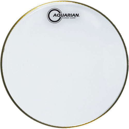 AQUARIAN DRUMHEAD CLASSIC CLEAR SNARE SIDE l 아쿠아리안 클레식 클리어 스네어하피 - Snare Side Single Ply(1겹) - 옵션 사이즈선택 (CCSN)