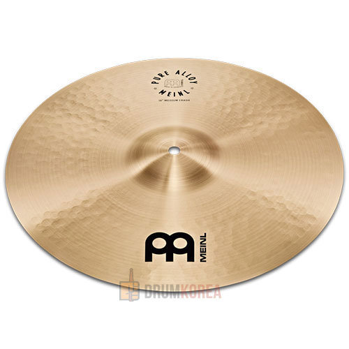 Meinl - Pure Alloy Medium Crash Traditional 크래쉬 심벌