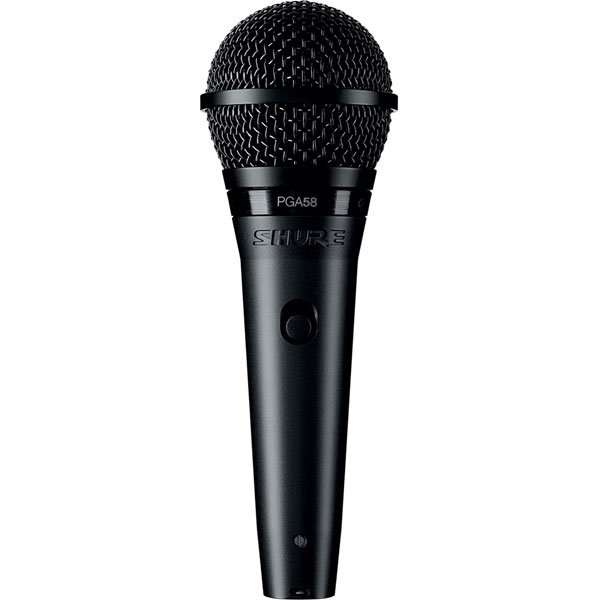 Shure PGA58 Dynamic Vocal Microphone - PGA58 다이나믹 보컬 마이크