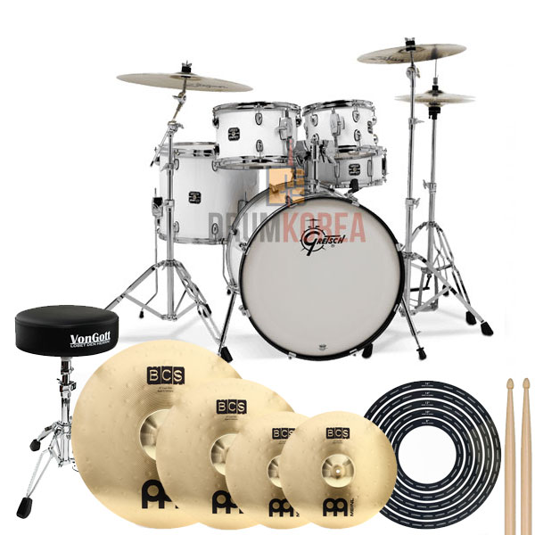 Gretsch - Energy Drum Set + 심벌세트 패키지