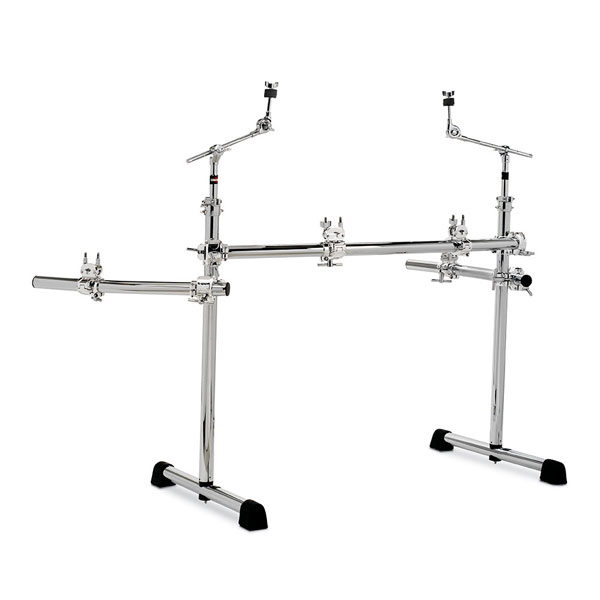 Gibraltar CURVED RACK SIDE EXTENSION WITH WINGS l 지브랄타 GCS375R 크롬 커브드 풀 랙 - GCS-375R
