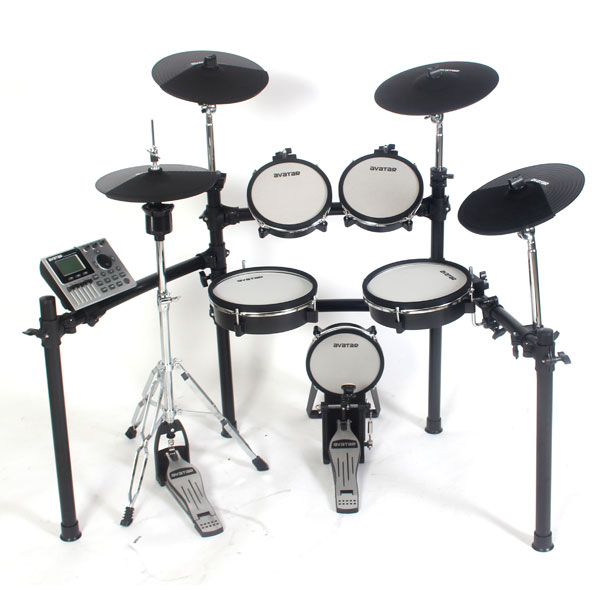 HXW Avatar SD201-3SH Electronic Drum Set (올 메쉬헤드 5기통 전자드럼)