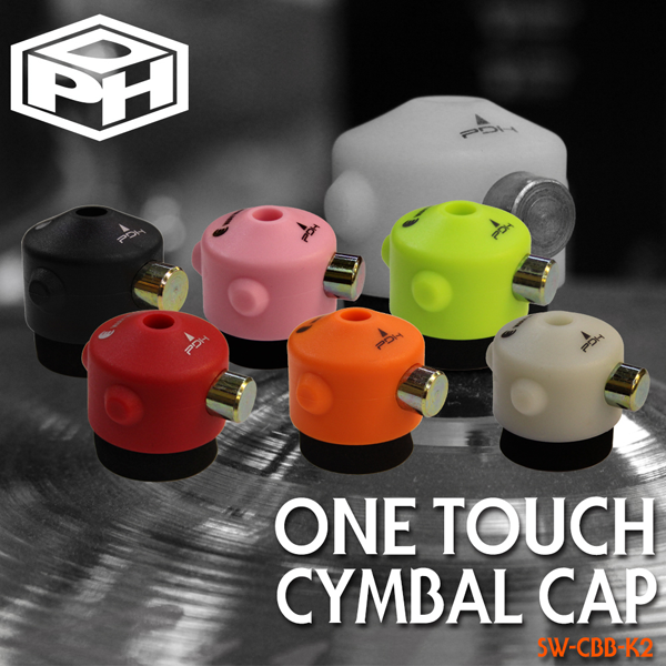 PDH One Touch Cymbal Cap 6종 (원터치윙넛) /SW-CBB-K2