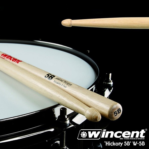 Wincent Hickory 5B Drum Stick /W-5B 윈센트 드럼스틱