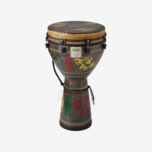 "REMO - Tunable 젬베(Djembe) 12"",14""인치 (DJ-0012-24,DJ-0014-24)"