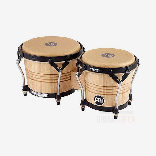 Meinl 나무 봉고 Luis Conte모델 6 3/4 & 8인치 Natural  LC300NT-M