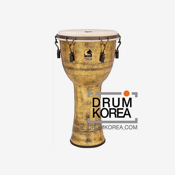 Toca - Freestyle Tunable 젬베이 10인치 Gold칼라 SFDMX-10AG