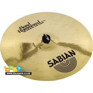 [드럼코리아 1599-3867] SABIAN - HAND HAMMERED [HH] Medium Thin 크래쉬