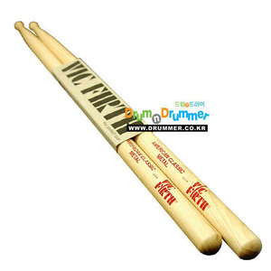 [드럼코리아 1599-3867] Vic Firth - American Classic Metal 우드팁 스틱