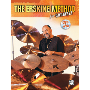 [드럼코리아 1599-3867] Peter Erskine - The Erskine Method For Drumset - Book & DVD
