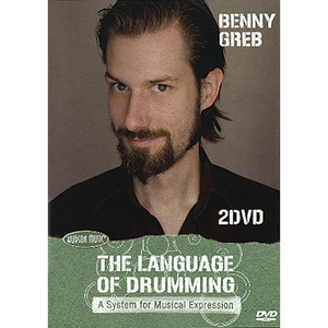 [드럼코리아 1599-3867] [2DVDs]Benny Greb - The Language Of Drumming 베니 그렙