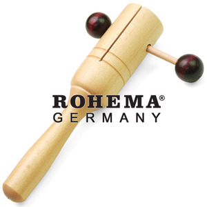 (독일 백년기업) ROHEMA - Handle Rattle 61631