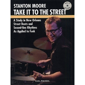 [교본+Audio CD] Take It To The Streetby Stanton Moore