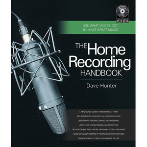 [드럼코리아 1599-3867] [교본+CD] The Home Recording Handbook