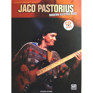 [교본+CD] Jaco Pastorius - Modern Electric Bass By Jaco Pastorius And Jerry Jemmott