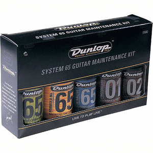 [드럼코리아 1599-3867] Dunlop System 65 Guitar Maintenance Kit (6500)