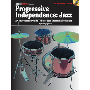[교본+CD] Progressive Independence: Jazz