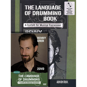 [교본+CD+DVD] Benny Greb - The Language of Drumming 베니 그렙
