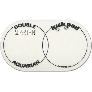 [드럼코리아 1599-3867] Aquarian - SUPER THIN DOUBLE KICK PAD 비터/ 임팩트 패드 (STKP2)